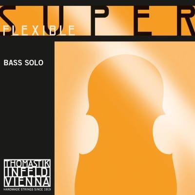 Thomastik-Infeld 38S SuperFlexible Chrome Wound Rope Core 4/4 Double Bass Solo String - B/H (Medium)