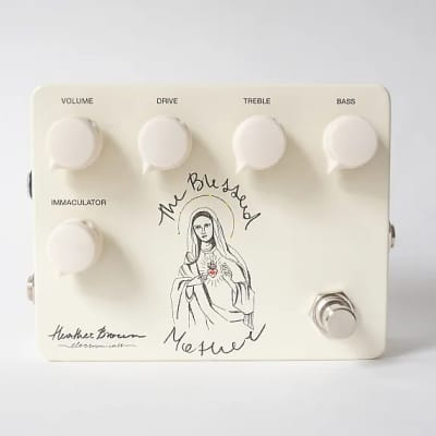 Heather Brown Electronicals The Blessed Mother: Light Gain Transparent Overdrive / Boost