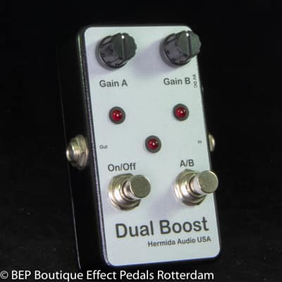 Hermida Audio Dual Boost 2009 hand built  by Mr. Alfonso Hermida USA