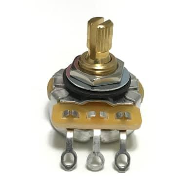 "CTS 250K Audio Pot 1/4"" Bushing Length for Pickguards & Plates"