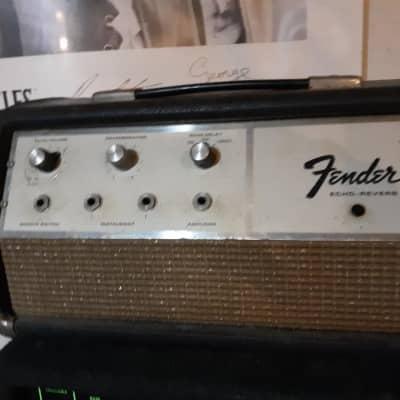 Fender FENDER 1960's ECHOREVERB  Oil Can Delay Echo  BLACK for sale