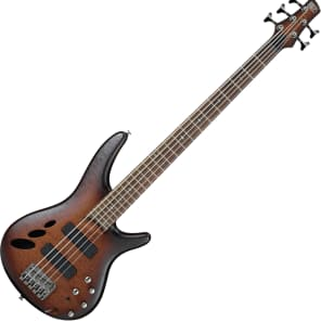 Ibanez SR30TH5-NNF 30th Anniversary 5-String Hollowbody Bass w/ Rosewood Fretboard Natural Brown Burst