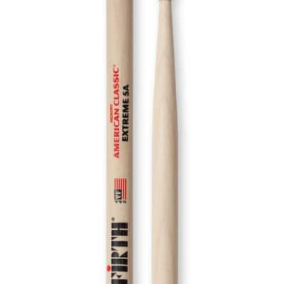 Vic Firth X5A Extreme 5A Wood Tip Drumsticks