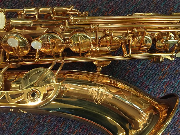 Buffet 400 Series Tenor Saxophone-Intermediate-High F# ...