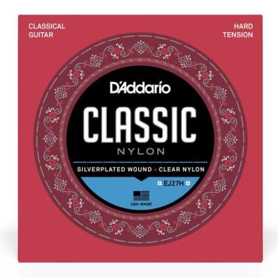 D'Addario's EJ27H Classic Nylon Guitar Strings, Hard Tension