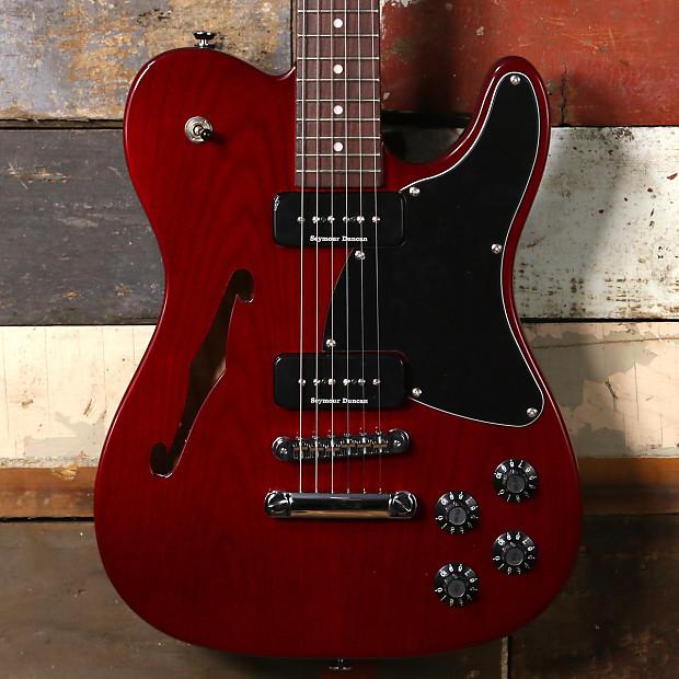 fender ja 90 jim adkins thinline telecaster crimson red reverb. Black Bedroom Furniture Sets. Home Design Ideas