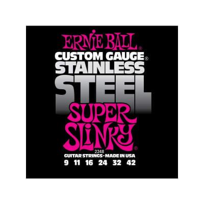 Ernie Ball 2248 Stainless 09-42