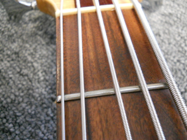 1990 Tobias Basic 5 Lefty Electric 5 String Bass Guitar