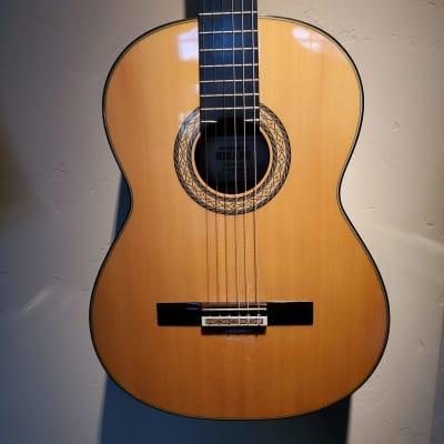 Left-Hand 1991 Hirade/Takamine Classical guitar for sale