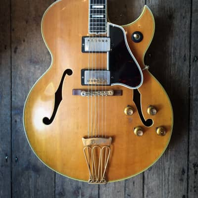 1967 / 68 GIBSON Byrdland Arch top Natural finish with hard shell case for sale