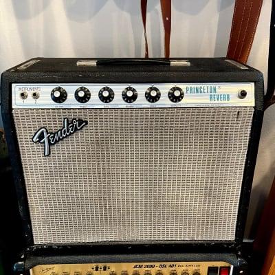 "1975 Fender Princeton Reverb 2-Channel 15-Watt 1x10"" Vintage Guitar Combo"