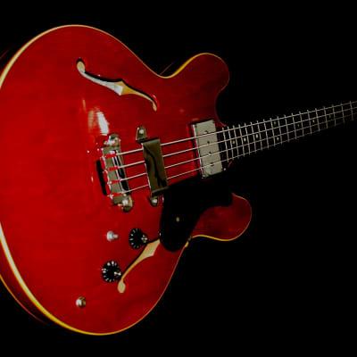 Epiphone EB 232 C Rivoli 1966 Cherry Red. Iconic Bass. Rare. for sale