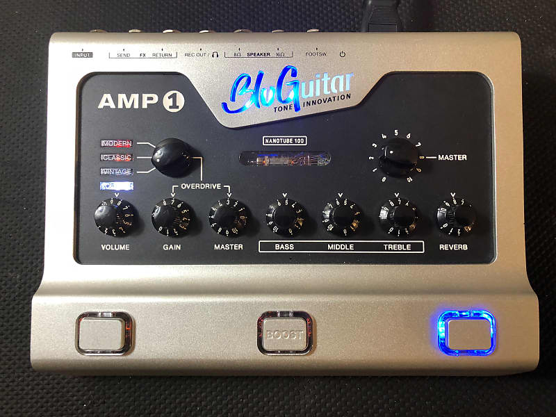 Bluguitar Amp1 with MIDI Cable Adapter and Soft Case image
