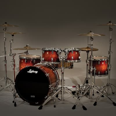 """Ludwig Legacy Exotic 2-Up / 2-Down Outfit 8x10 / 9x12 / 12x14 / 14x16 / 18x22"""" Drum Set"""