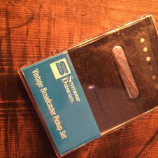 Seymour Duncan Vintage Broadcaster Pickup Set STL-1 Nickel