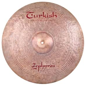 "Turkish Cymbals 24"" Jazz Series Zephyros Ride Cymbal Z-R24"