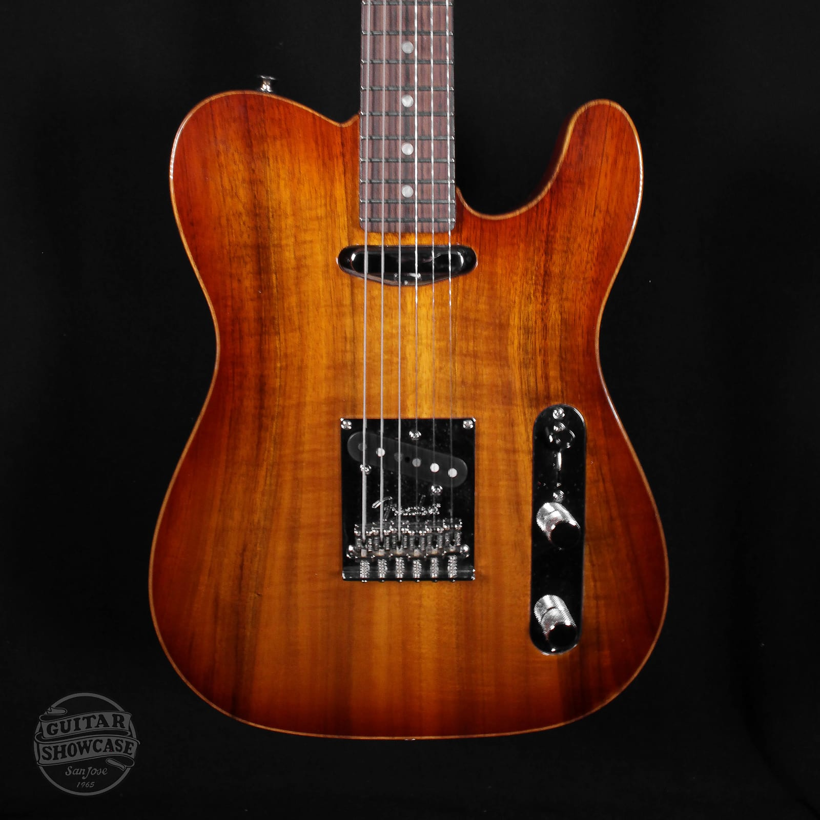 Fender American Select Carved Top Koa Telecaster