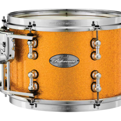 """Pearl Music City Custom 14""""x10"""" Reference Pure Series Tom Drum RFP1410T - Vintage Gold Sparkle"""