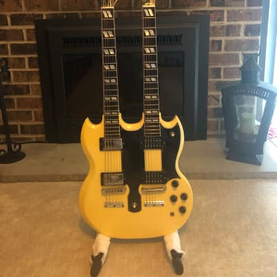 Gibson EDS-1275 1989 Alpine White for sale