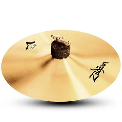 """Zildjian A20002 9.5/"""" Large Zil Bell Drumset Cymbal With Mid To High Pitch Used"""