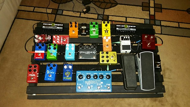 Andrews Pedal Boards Pedal Train Wood | Gear Addiction
