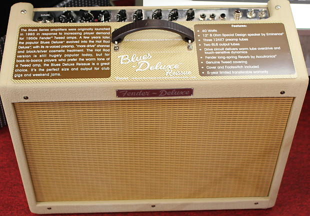 fender blues deluxe cream of wheat limited edition tube reverb. Black Bedroom Furniture Sets. Home Design Ideas