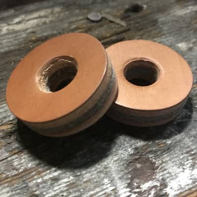 Tackle Leather Cymbal Washers - 2 pack