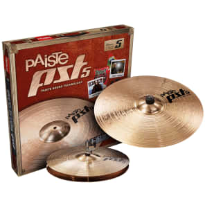 "Paiste PST 5 Essential Set 14""/18"" Cymbal Pack"