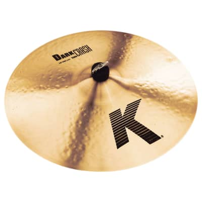 "Zildjian 18"" K Series Dark Medium Thin Crash Cymbal"