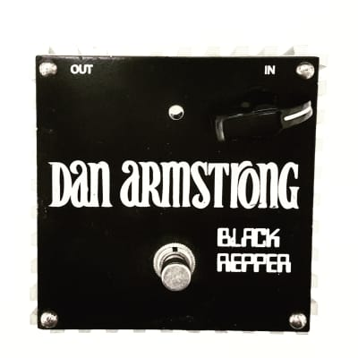 Dan Armstrong Black Reaper USA Mid EQ Guitar Effect Pedal for sale