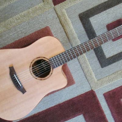 Cordoba Acero D9-CE All Solid Wood Acoustic-Electric Guitar w/ Deluxe HSC for sale