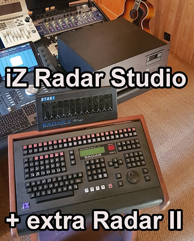 iZ Radar Studio complete with controller, meter bridge and Pro Tools,  including extra Radar II
