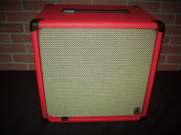 british red earcandy american classic 1x12 open back guitar reverb. Black Bedroom Furniture Sets. Home Design Ideas