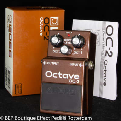 Boss OC-2 Octave Pedal 2001 s/n JP18247, as used by the great Matt Bellamy & Chris Wolstenholme