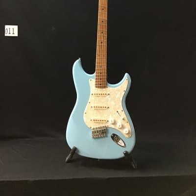 Emerald Bay  Custom shop fan fret (multi-scale) roasted maple electric guitar for sale