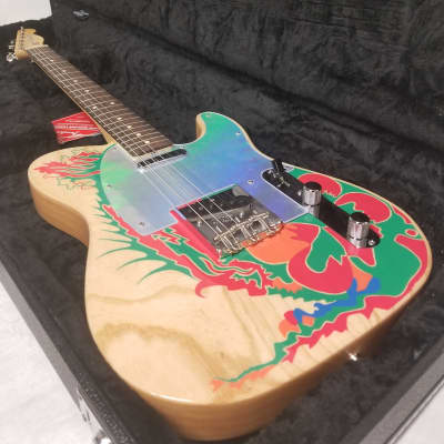 Fender Jimmy Page Telecaster Electric Guitar, Rosewood Fingerboard, Natural W/Hard Shell Case for sale