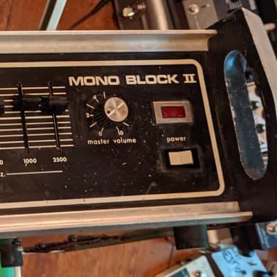 Traynor Mono Block ii / 1970s / Fully Functional