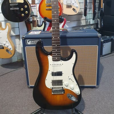 Epiphone FAT-210 'ST' Style Electric Guitar with Loaded Gibson Pickups and Case for sale