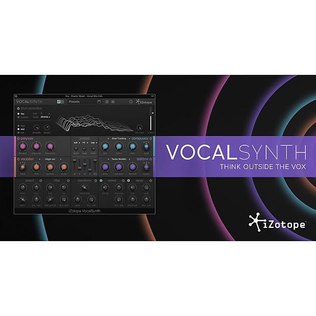 Vocal Effects Plugins : izotope vocalsynth vocal effects plugin reverb ~ Vivirlamusica.com Haus und Dekorationen