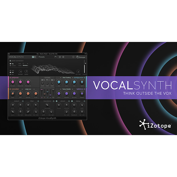 izotope vocalsynth vocal effects plugin reverb. Black Bedroom Furniture Sets. Home Design Ideas
