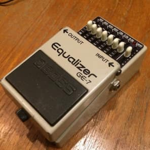 Boss GE-7 Graphic EQ 1981 - 1992 Made In Japan