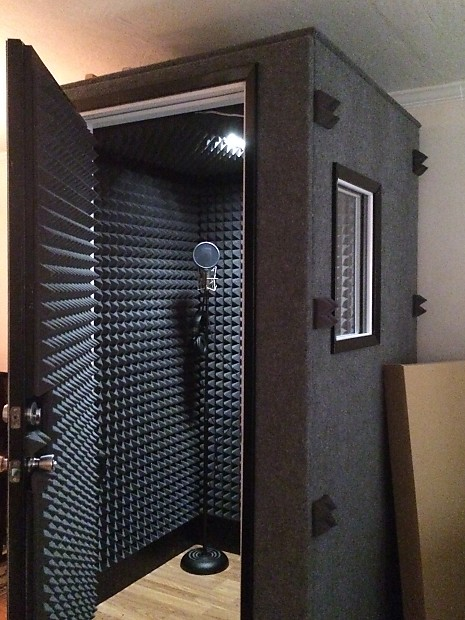 Vocal Sound Recording Whisper Isolation Booth Booths Room