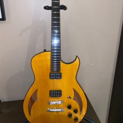 Marchione Semi-hollow 2014 Amber Burst Nitrocellulose for sale