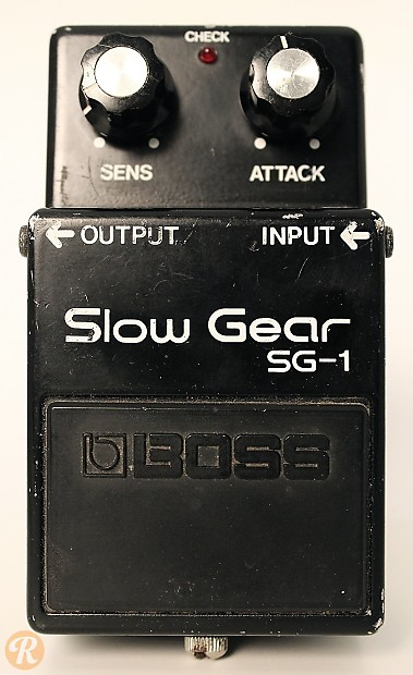 boss sg 1 slow gear 1980s price guide reverb. Black Bedroom Furniture Sets. Home Design Ideas