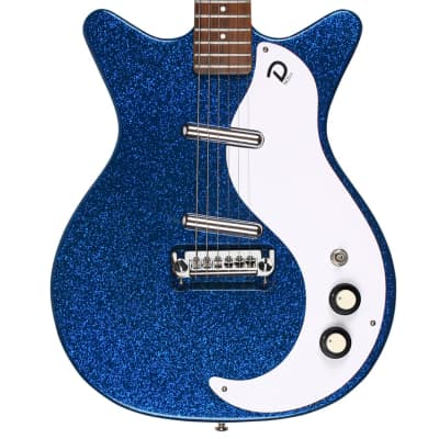 Danelectro '59M NOS+ 60TH Anniversary Edition | Blue Metalflake