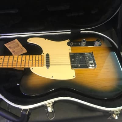 Fender American Deluxe Telecaster Ash with haussel pickups
