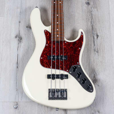 Sadowsky MetroLine 22-Fret Will Lee Bass, Red Alder Body, Solid Olympic White
