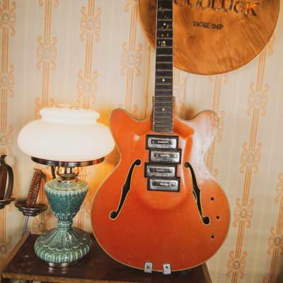 ORFEUS ORPHEUS 12-STRING Semi-Hollow Electric Guitar RARE Soviet Vintage USSR for sale