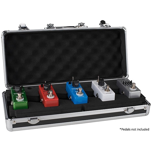 mini pedal board guitar holds 5 mini pedals built in cables reverb. Black Bedroom Furniture Sets. Home Design Ideas