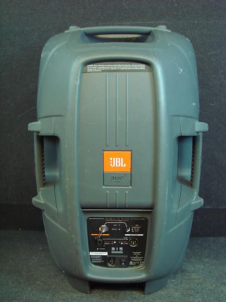 jbl eon 300 series 315 280 watt 15 two way powered reverb. Black Bedroom Furniture Sets. Home Design Ideas